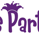 Logo and tri-fold brochure for Let's Party