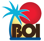 Logo for Born on the Island