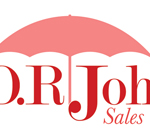 Logo and business cards for D.R. Johnsons Sales & Marketing