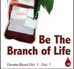 Logo and print ad campaign for Inland Northwest Blood Center