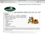 Evergreen Sales Group website design