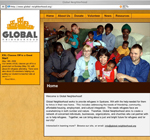 Global Neighborhood website design