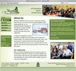 Manito Presbyterian Church website design