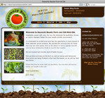 Heavenly Bounty Famr & CSA website design