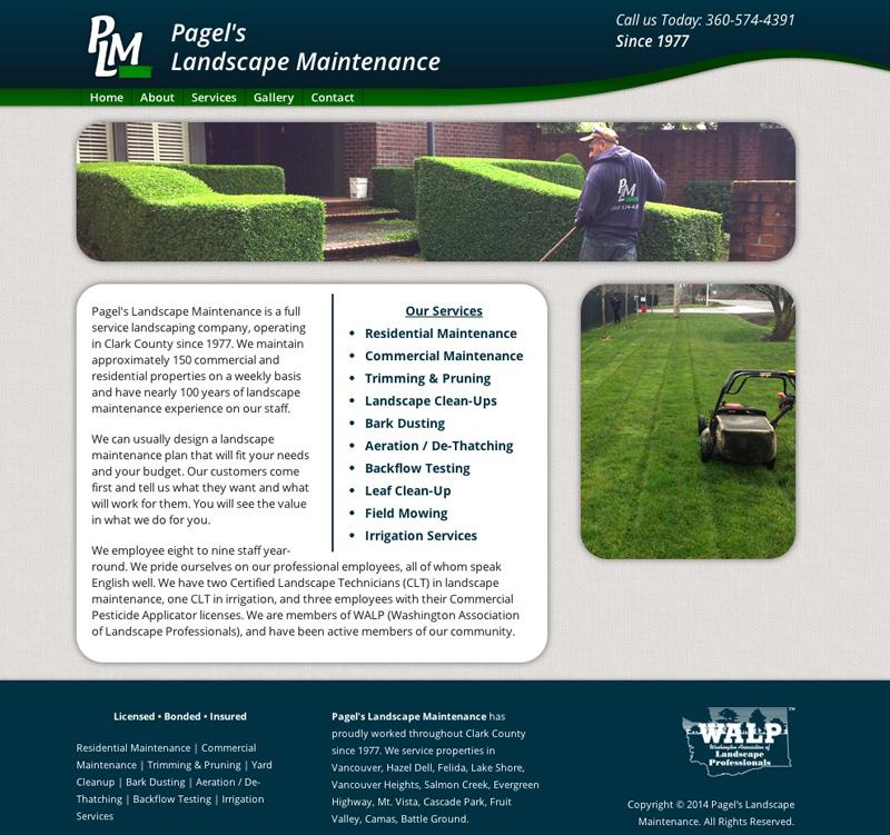 Pagel S Landscape Maintenance Vancouver Wa